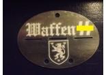 Nieśmiertelnik niemiecki aluminium 33 Dywizja Grenadierów