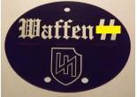 "Nieśmiertelnik niemiecki aluminium 2 Dywizja Pancerna SS ""Das Reich"""