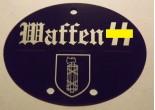 Nieśmiertelnik niemiecki aluminium 29 Dywizja Grenadierów SS (1 włoska)