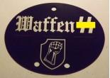 "Nieśmiertelnik niemiecki aluminium 17 Dywizja Grenadierów Pancernych SS ""Götz von Berlichingen"""