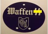 """Nieśmiertelnik niemiecki aluminium 9. Dywizja Pancerna SS """"Hohenstaufen"""""""