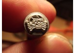 Stamp skull 5 x 4 mm K98 P08 P38 Punch