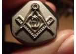 Masonic stamp 8 x 10,5 mm