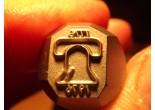 Masonic stamp 5 x 6,3 mm