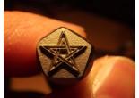 Masonic stamp 6,3 x 7,4 mm
