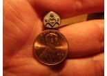 Masonic stamp 9 x 9,5 mm