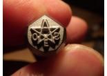 Masonic stamp 6,7 x 6,7 mm