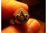 Masonic stamp 8 x 10,8 mm