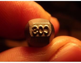 Stempel cos 6,5 x 3 mm K98 P08 P38