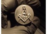 Masonic stamp 12 x 15 mm