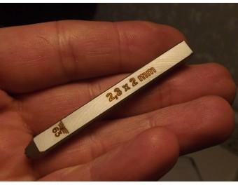 Schlagstempel Punze WaA56 E/56 2 mm