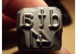 Stamp dla 43 marking the holster