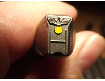 Stempel  Wehrmacht do znakowania kolby
