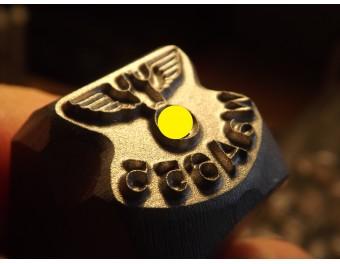 Stempel  WaA655 do znakowania kolby
