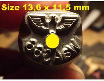 Stempel WaA280  Mauser K98 P08 P38 Kolba